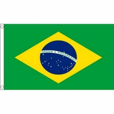 Braziliaanse  Grote vlag Brazilie 150 x 240 cm