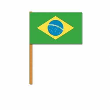 Braziliaanse  Handvlaggetje Brazilie