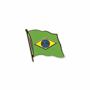 Braziliaanse  Mini vlaggetjes pins Brazilie