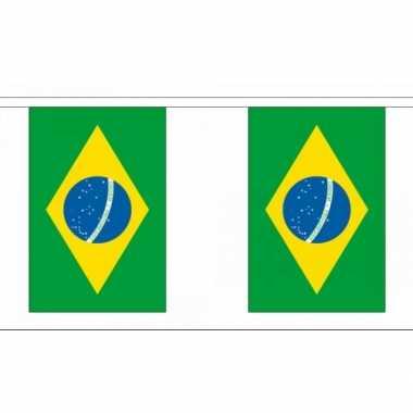 Braziliaanse  Rechthoekige vlaggenlijn Brazilie