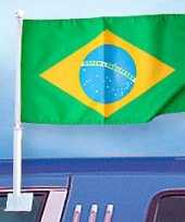 Braziliaanse autoraamvlag brazilie