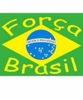 Braziliaanse brazilie gevelvlag forca brasil